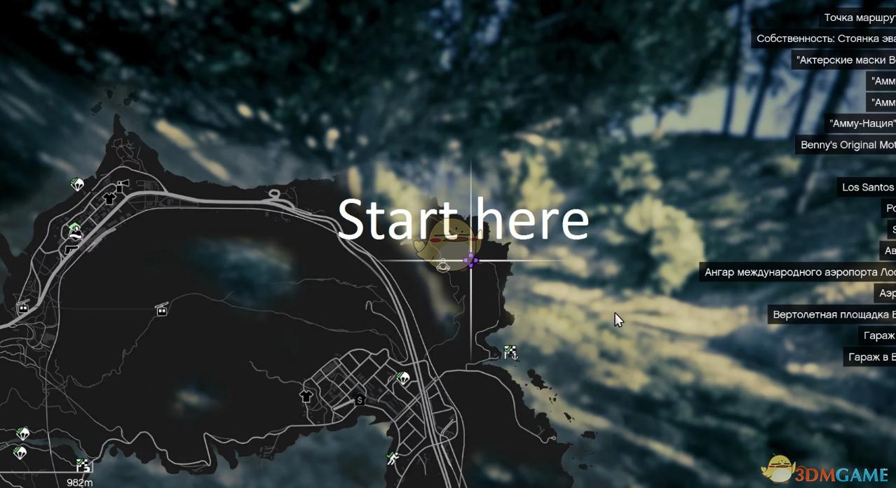 《侠盗猎车5》崎岖的越野赛地图MOD