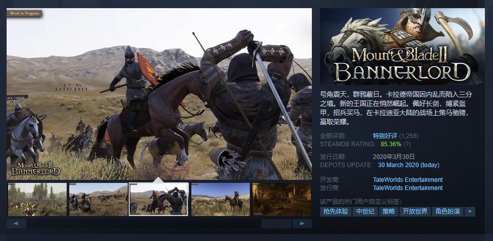文本使用问题 官方已于《骑砍2》Steam页面公开致