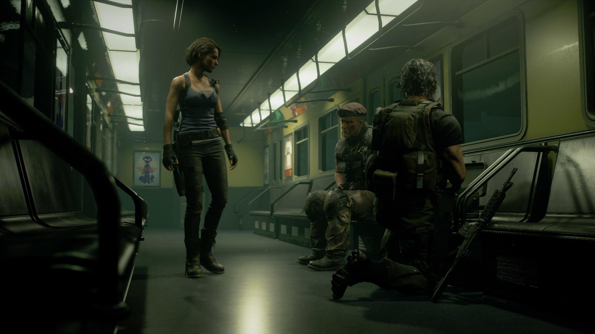 《生化3:重制版》实机影像 BOSS追逐战惊心动魄
