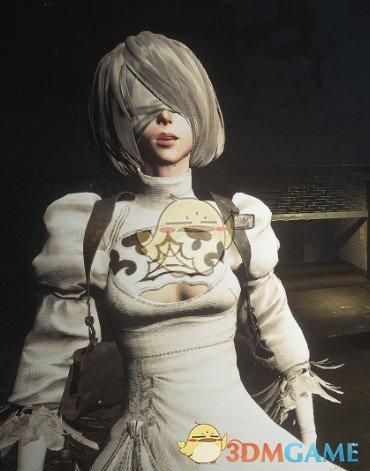 《生化危机3:重制版 试玩版》白色2B小姐姐吉尔MOD