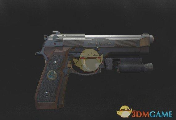 《生化危机3:重制版 试玩版》武士之刃手枪MOD