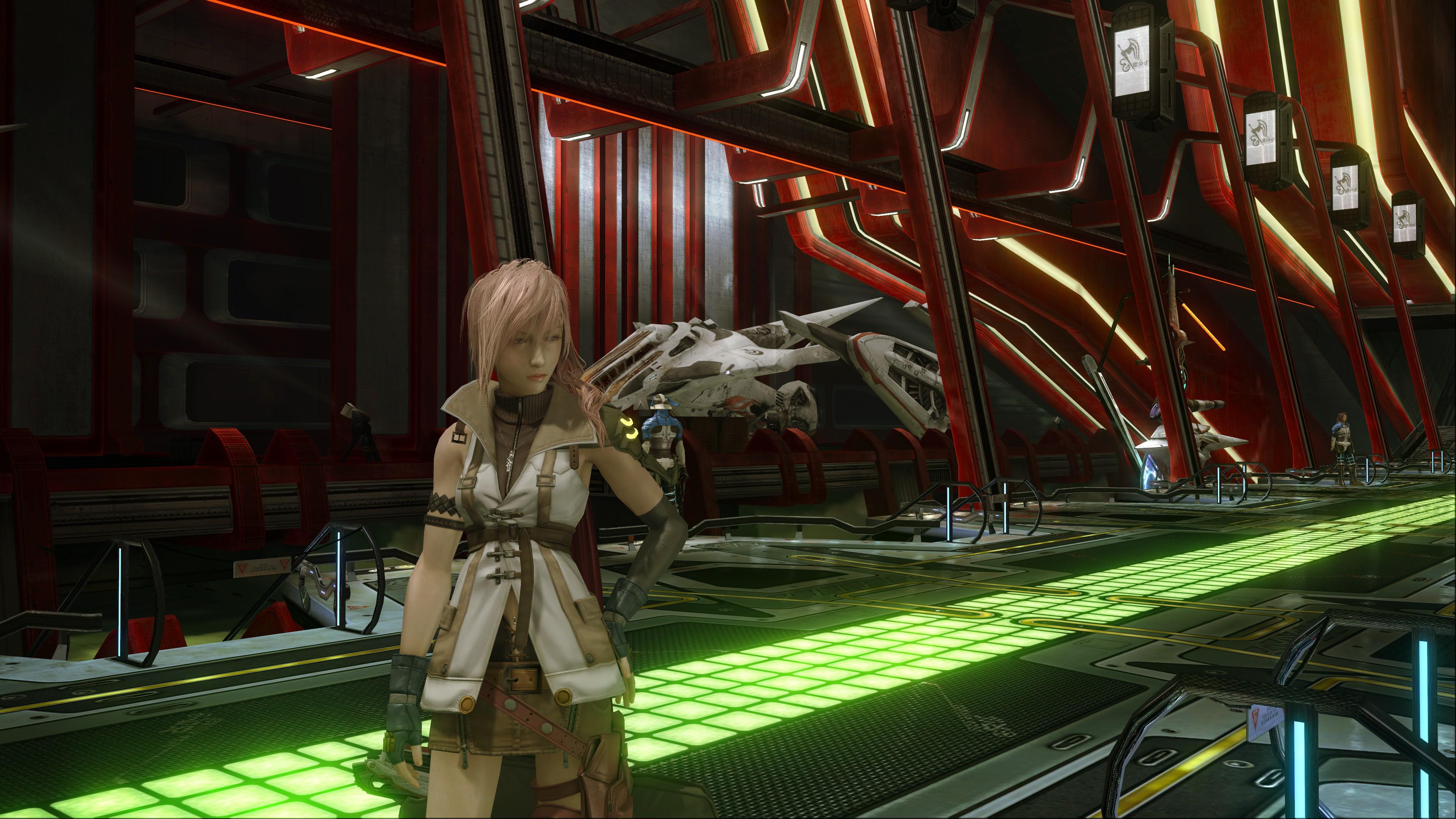 《最终幻想13》5.3GB高清纹理材质包发布 画面提升