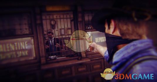 《荒野大镖客2》抢劫银行MOD汉化版