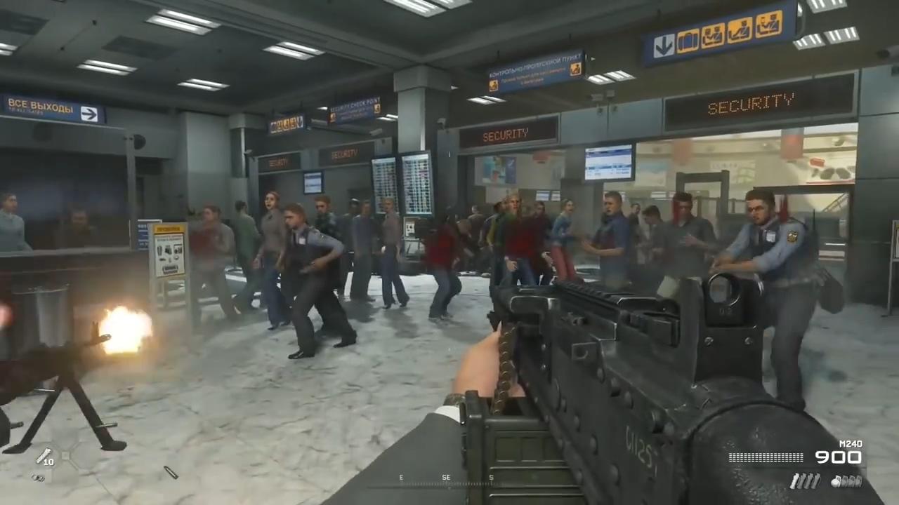 索尼俄罗斯拒绝出售《使命召唤6:现代战争2战役》高清复刻版