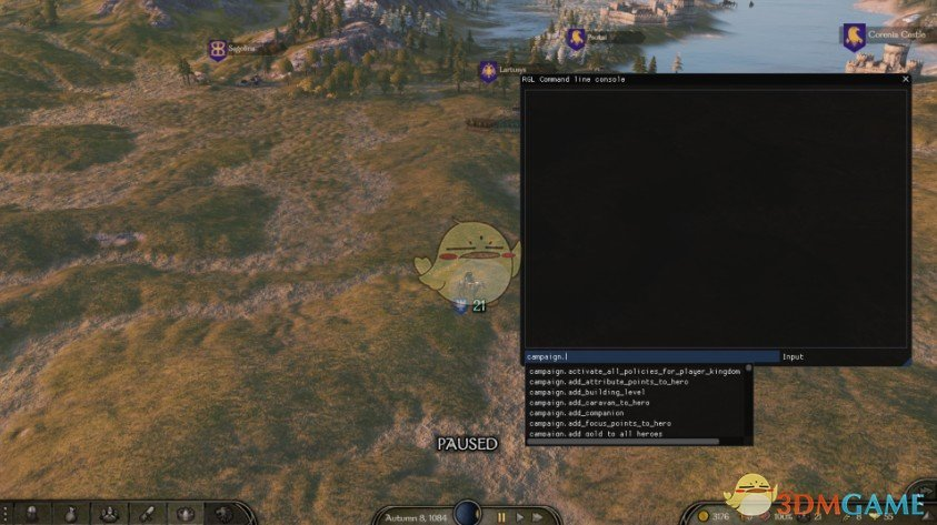 《骑马与砍杀2》开发者控制台v1.3.2