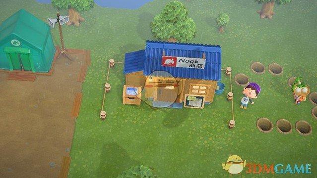 《集合啦!动物森友会》大头菜在哪 大头菜商人位置