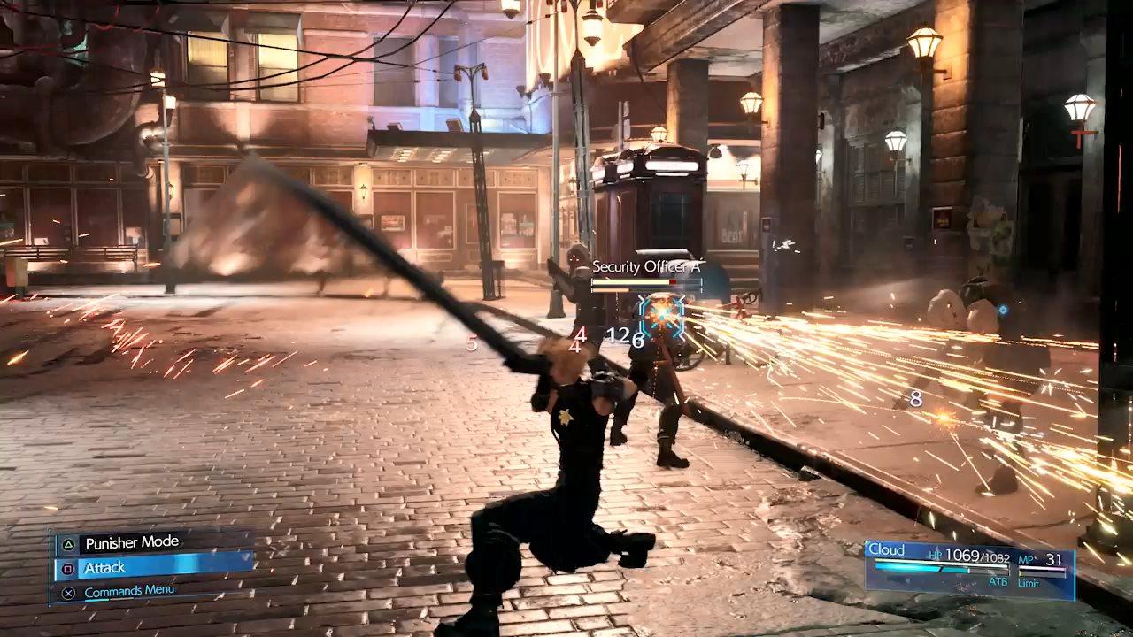 《最终幻想7:Re》开发者日志第三弹:战斗系统设计