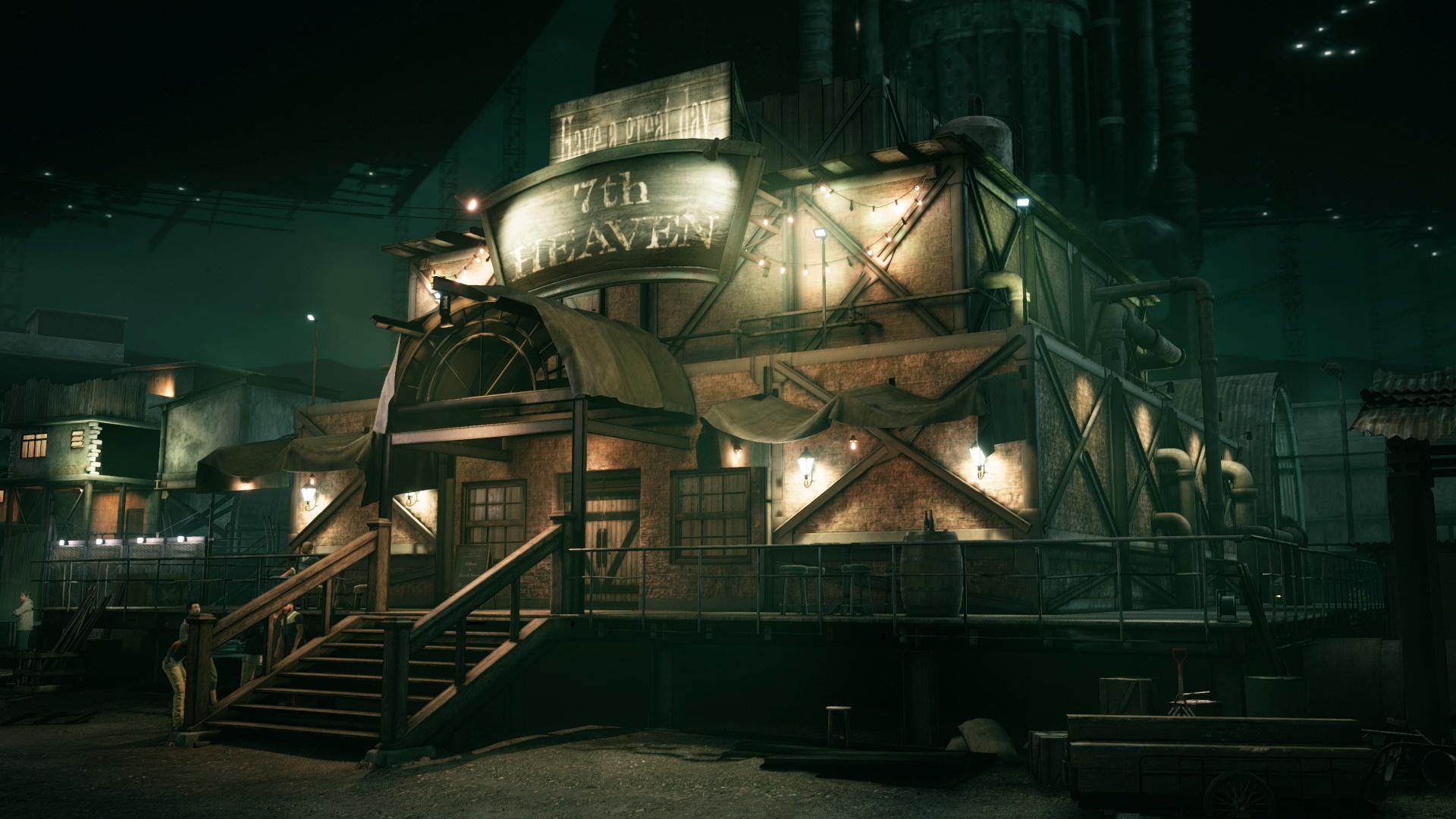 《最终幻想7:重制版》支持HDR PS4 Pro版支持4K