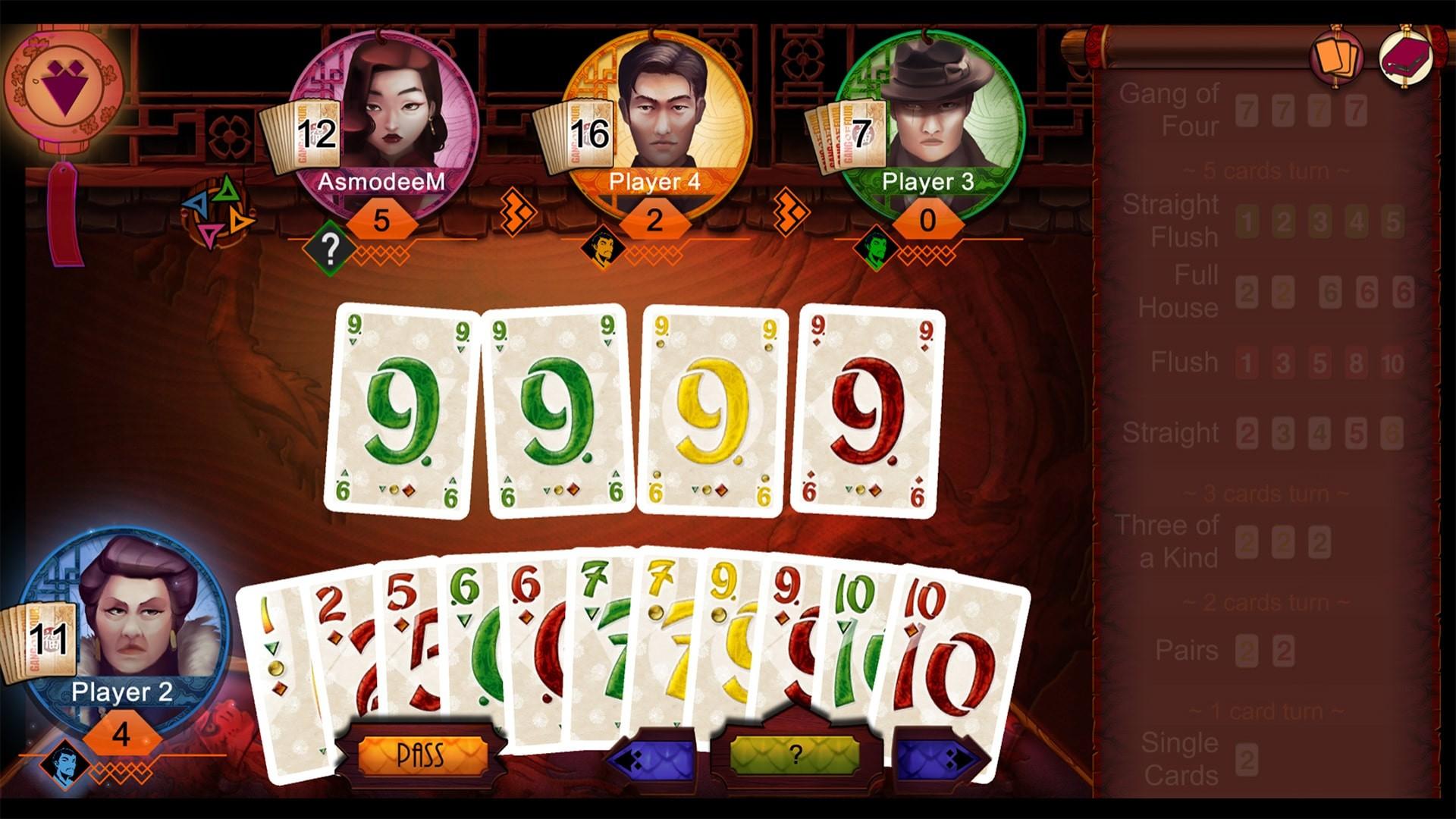 Steam喜加一 免费领取棋牌游戏《Gang of Four》