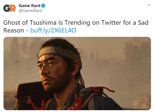 《对马岛之鬼》推特上引热议 原因竟是粉丝怕跳票