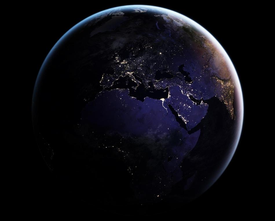 美翻了!NASA地球观测站评选最佳地球卫星图像