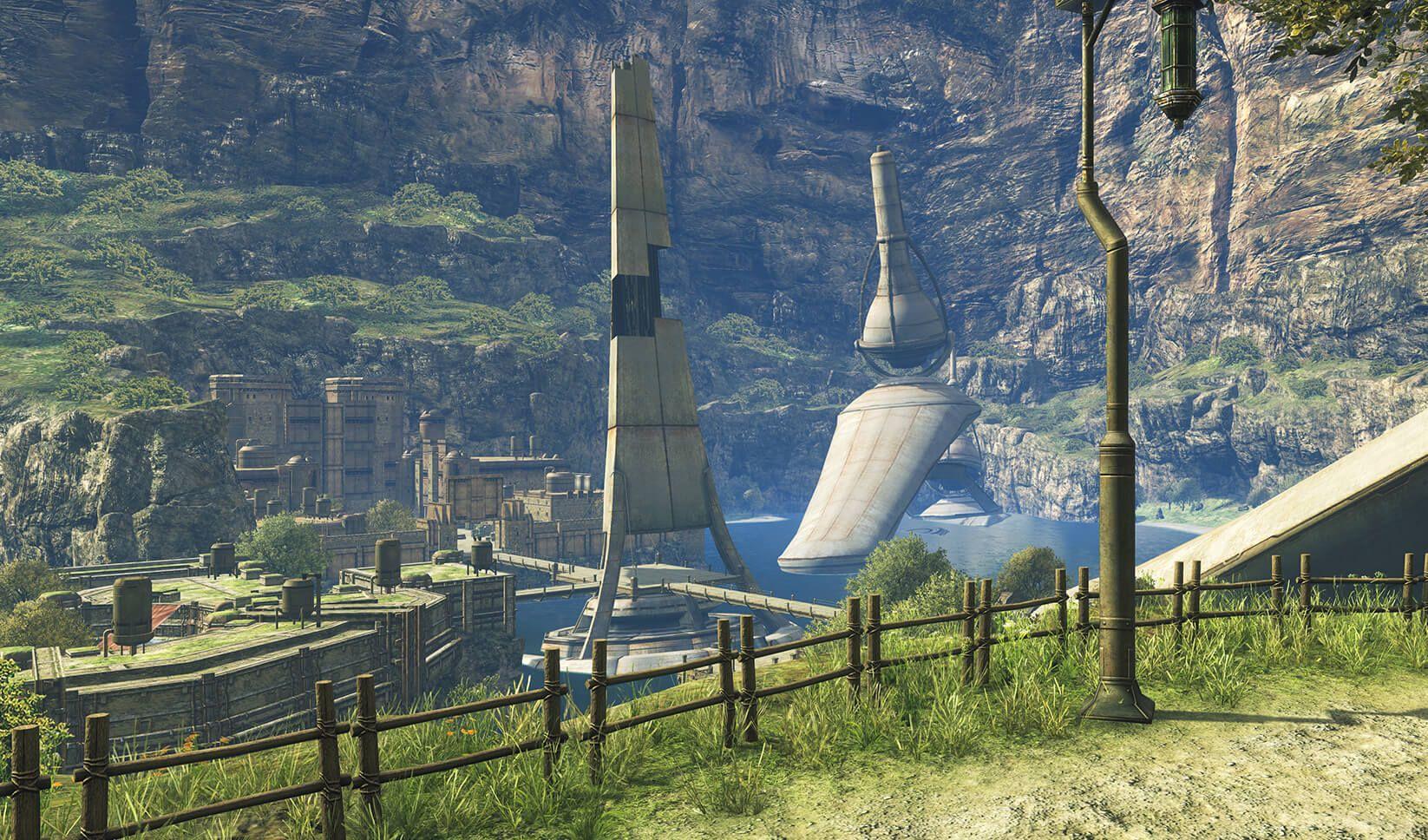 《异度神剑:终极版》全新截图 游戏世界令人神往