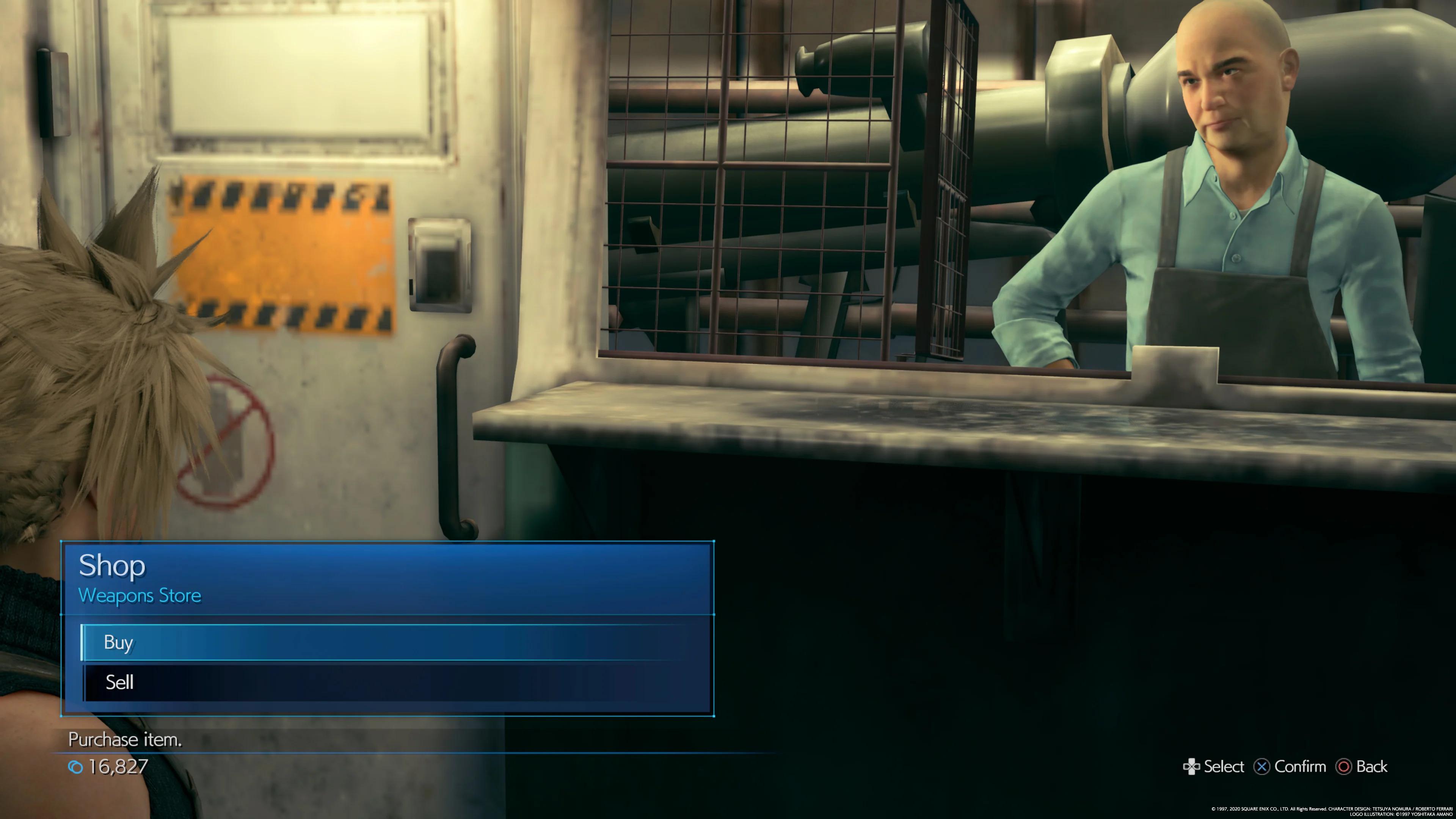 《最终幻想7:重制版》贴图质量存在极大的问题