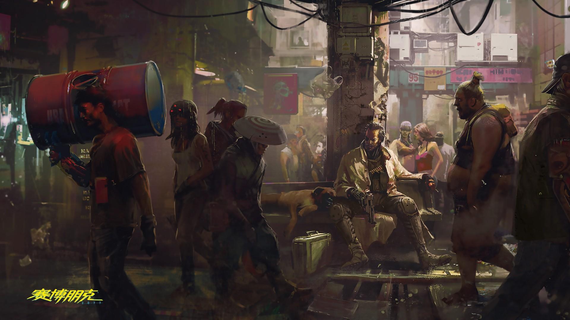 《赛博朋克2077》上市后续DLC内容不会少于《巫师3》