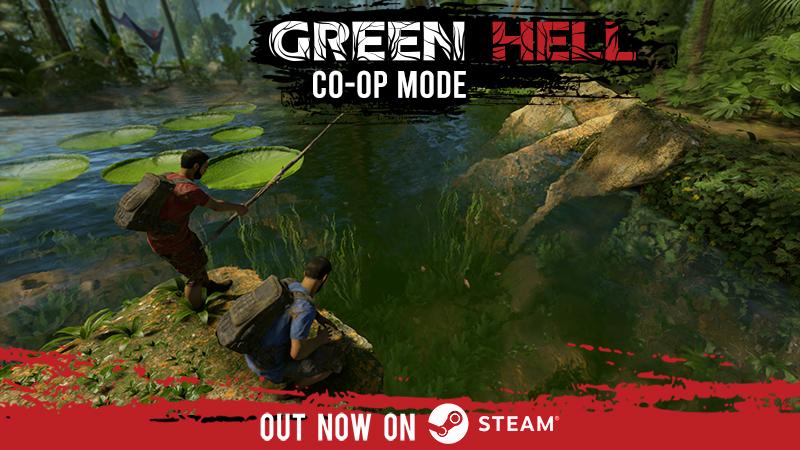 《绿色地狱》合作模式上线以来 在线玩家迅速飙升