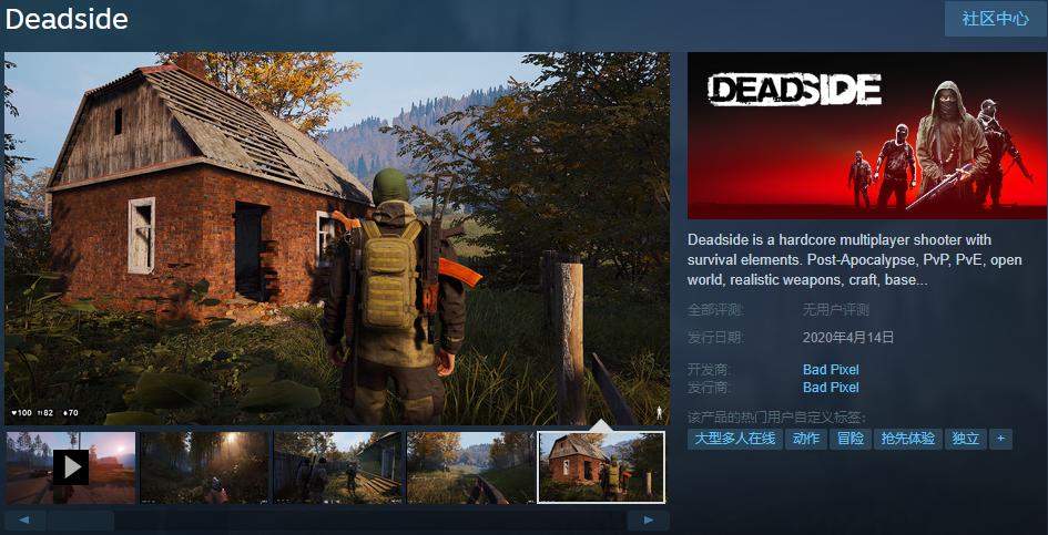 《生死相依(Deadside)》Steam解锁 加速器哪个好用分析推荐