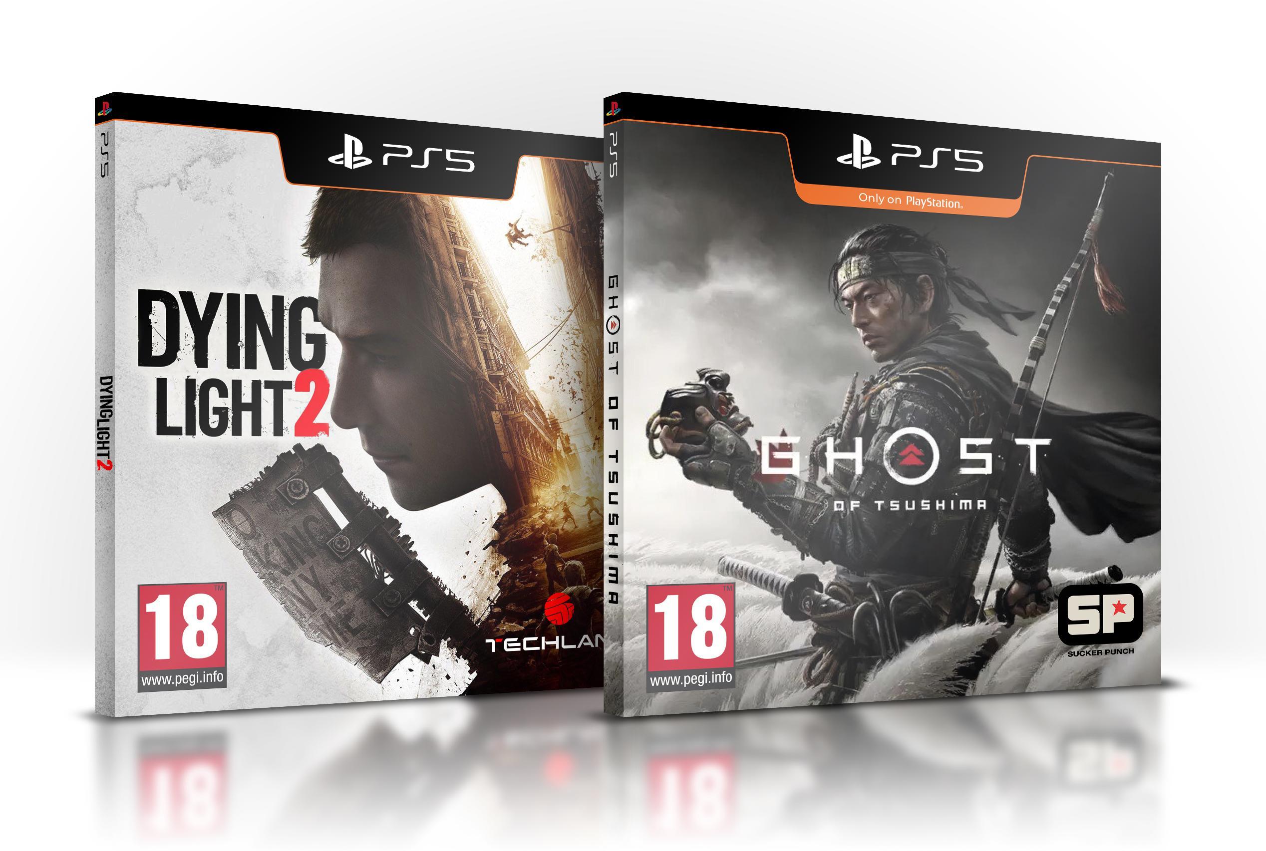 粉丝自制PS5游戏包装盒 你们更喜欢哪一个?