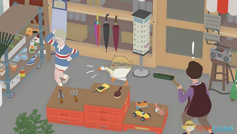 《捣蛋鹅》把小男孩困在车库任务攻略