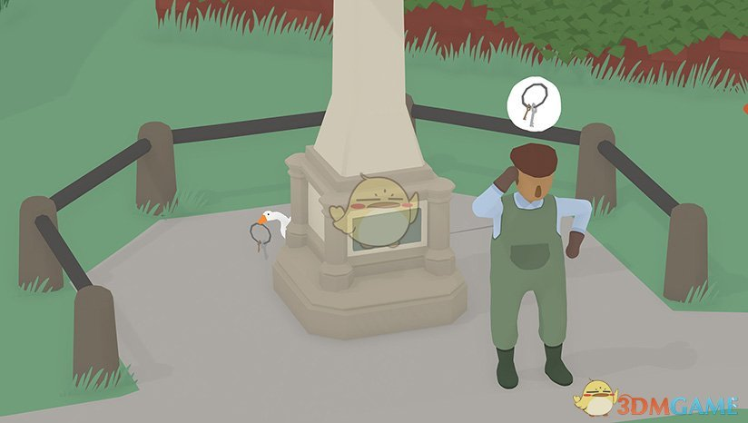 《捣蛋鹅》抓住抛过栅栏的物品任务攻略
