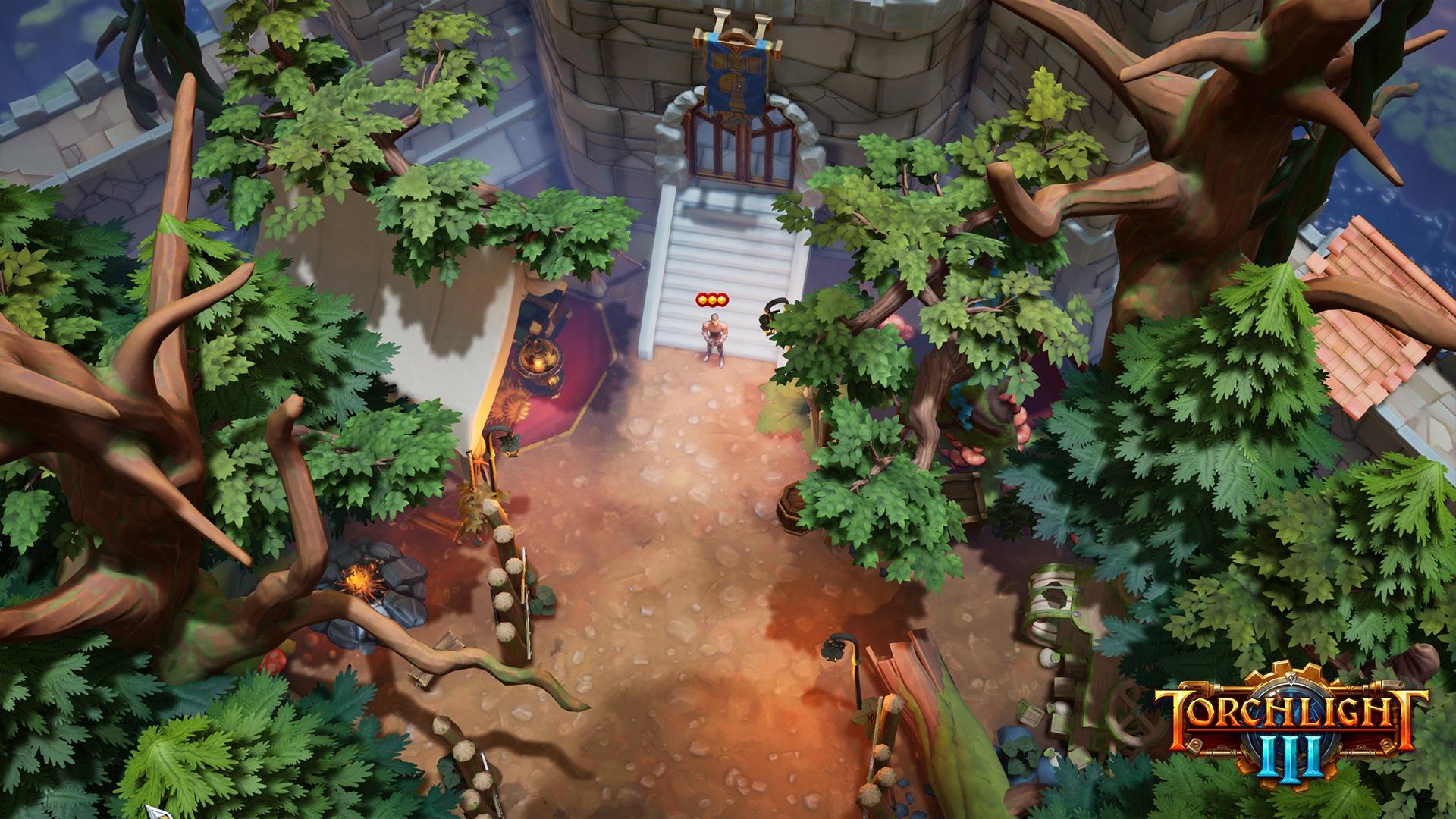 《火炬之光3》玩家要塞账户内共享 支持完全自定义