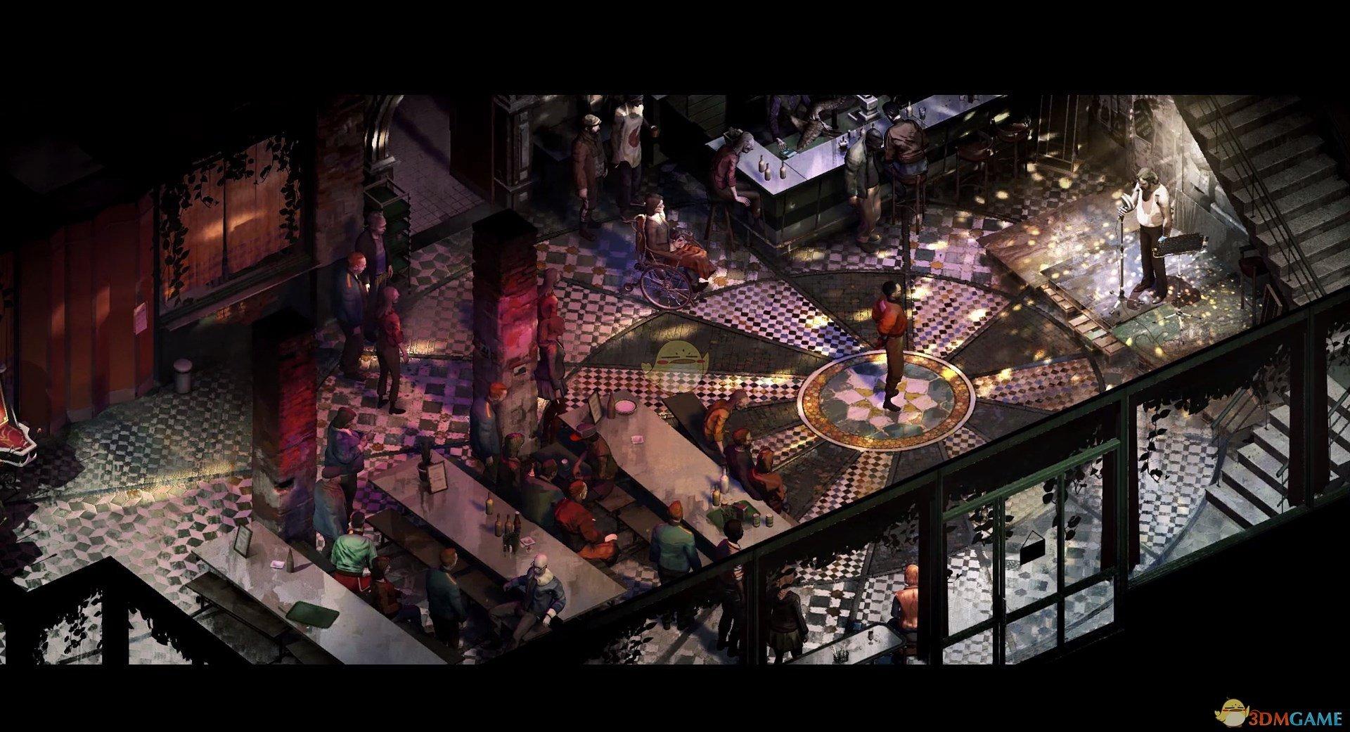 《极乐迪斯科》加斯顿马丁NPC身份背景介绍