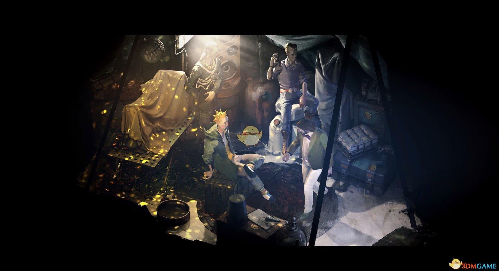 《极乐迪斯科》普莱桑斯NPC身份背景介绍