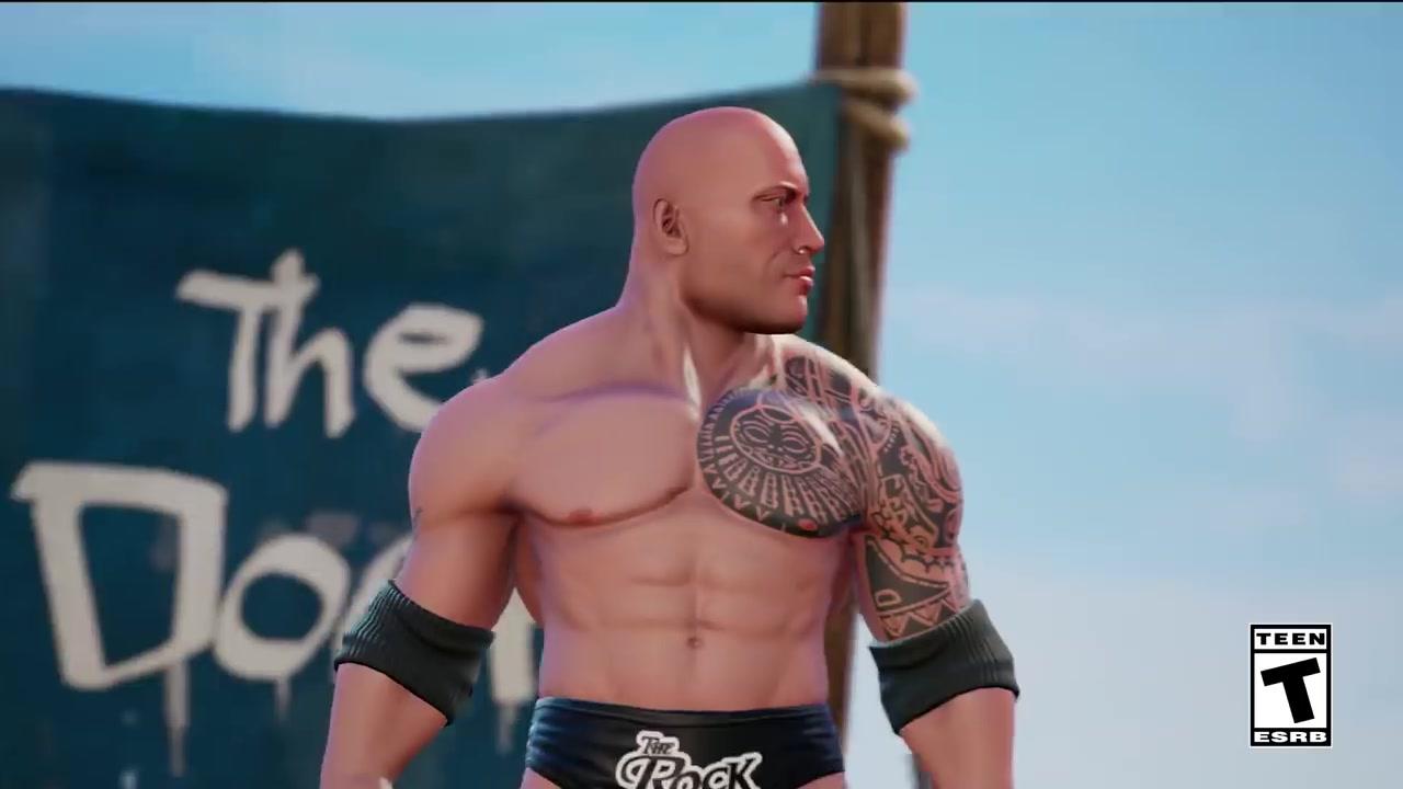 街机风格摔角 WWE系列新作《WWE 2K竞技场》公布