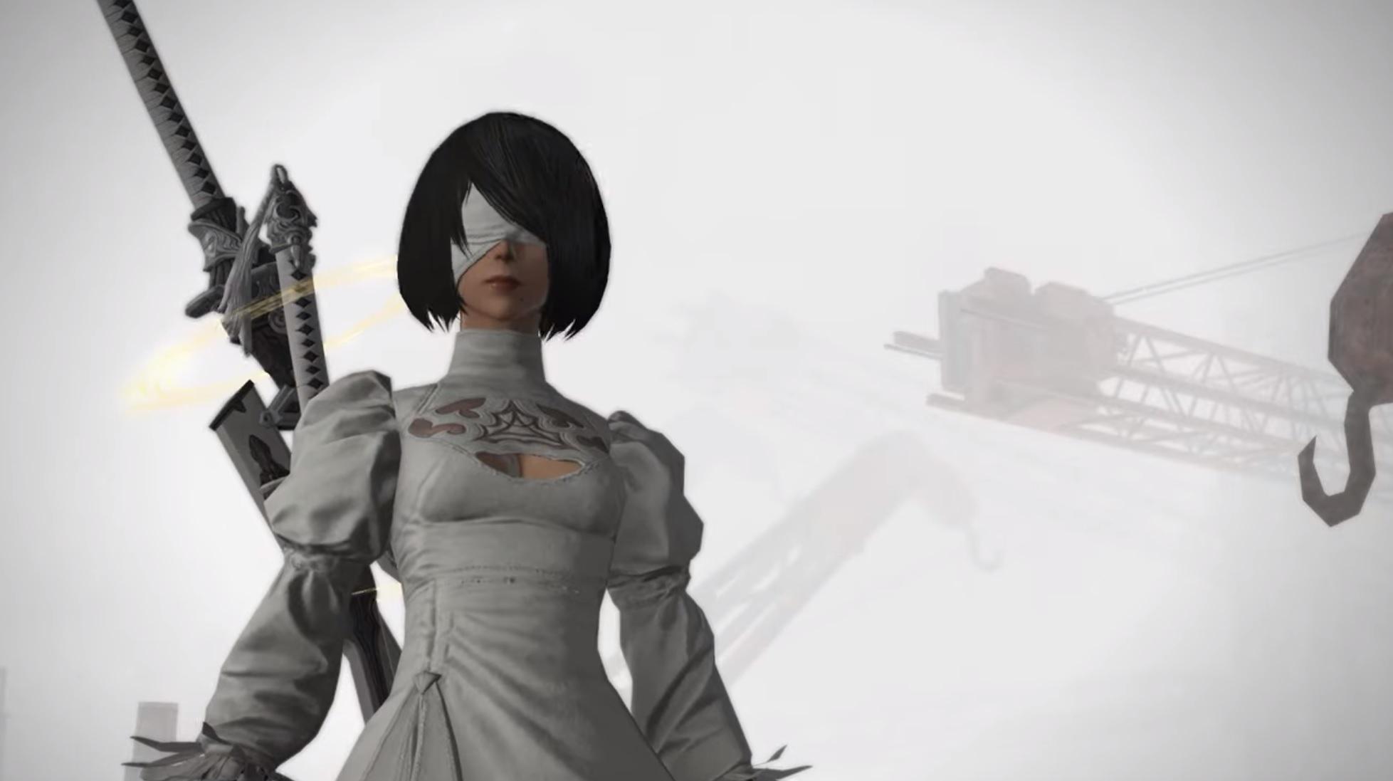 最终幻想14》X《尼尔》联动内容横尾太郎放飞自我_3DM单机