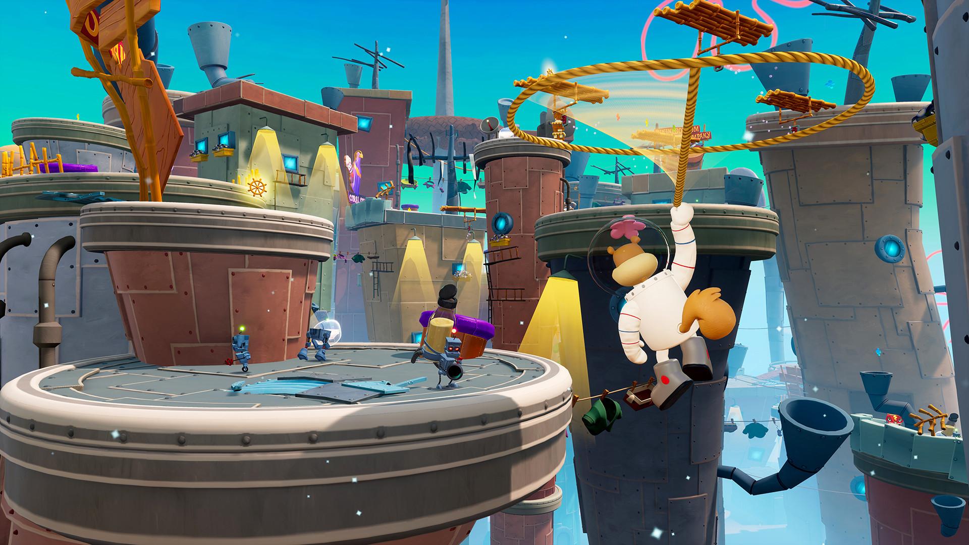 《海绵宝宝:争霸比基尼海滩 - 再注水》新预告 Steam定价159元
