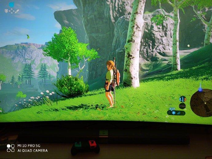 雷军假期爽玩《塞尔达传说》 称赞NS游戏画面细腻