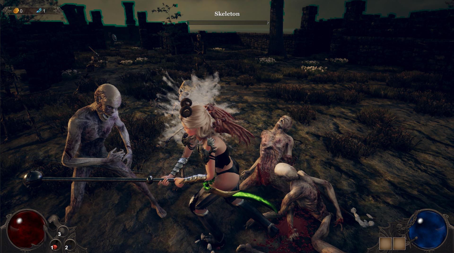 《惩戒:魅魔》Steam抢先体验版发售 性感女主战力高