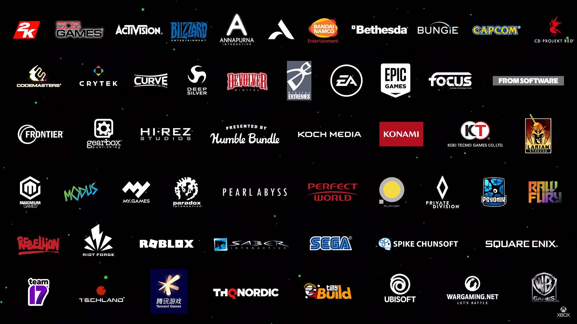 腾讯在列!微软宣布超140家第三方工作室为Xbox Series X开发游戏