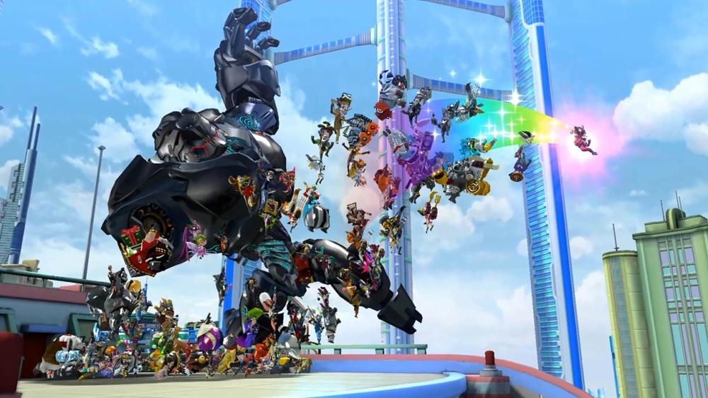 变身超人拯救市民 《神奇101:重制版》实机演示公开