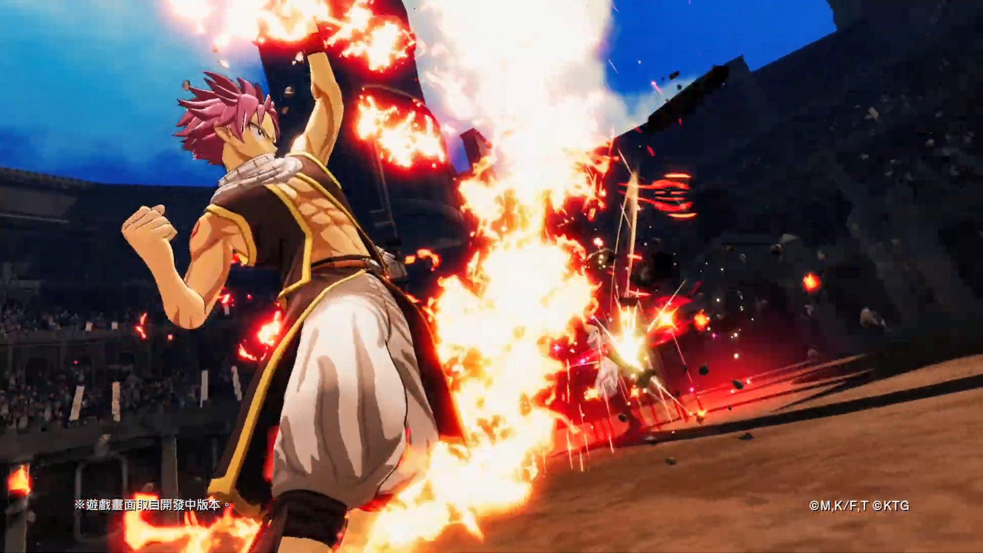 《妖精的尾巴》纳兹招式演示放出 灭龙魔法爆裂猛攻