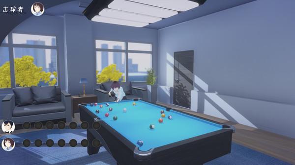 恋爱新游《连海台球俱乐部》上架Steam 明年6月推出