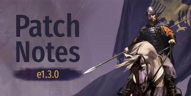 《骑马与砍杀2》e1.4.0测试版更新:更多技能实装