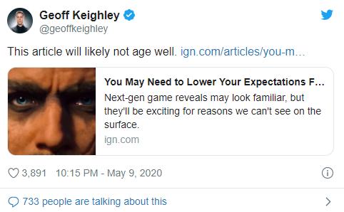TGA创办人暗示夏季游戏节的披露将满足玩家对次世代期望