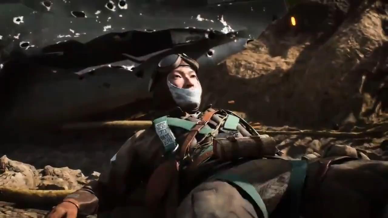 《战地5》新精英角色预告片 日本阵营的坂本秋良