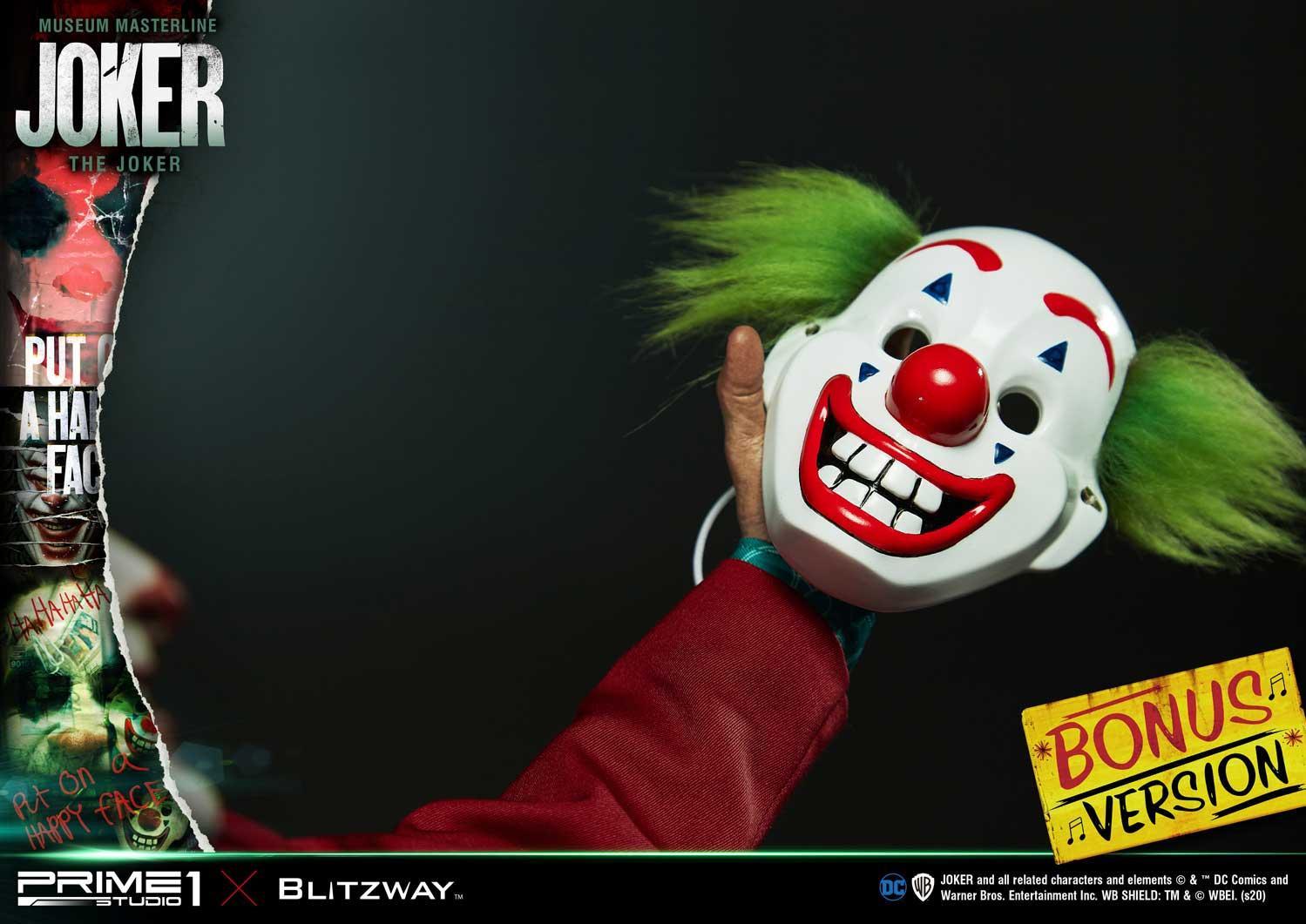 2019《小丑》独立电影1/3雕像开启预订 售价9215元