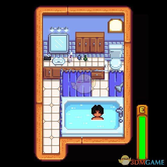 《星露谷物语》紧凑型小浴室MOD
