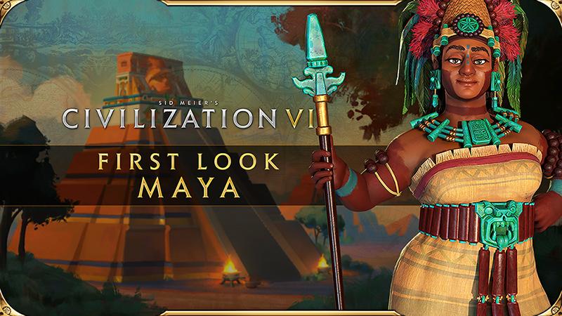 《文明6:新纪元季票》DLC《玛雅与大哥伦比亚包》已推出