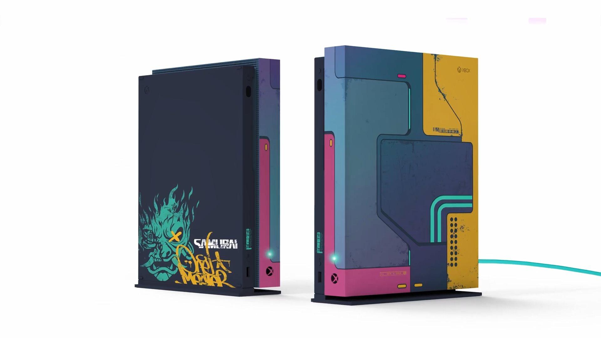 《赛博朋克2077》限量版Xbox主机开发幕后