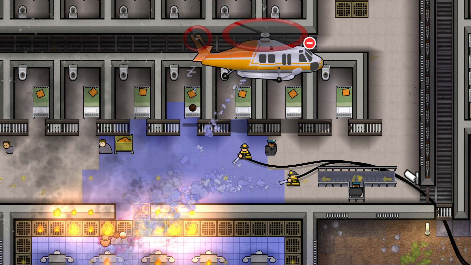 直升机+船舰?《监狱建筑师》新DLC确认6月11日发售