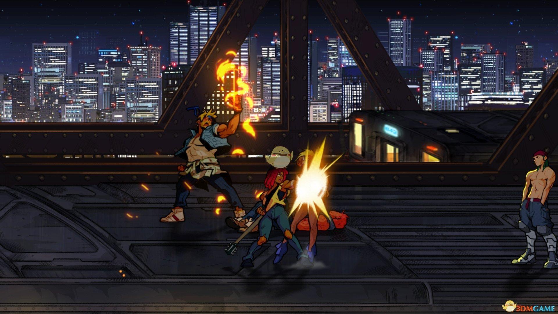 《怒之铁拳4》全关卡hard难度S级演示