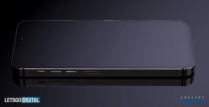 5.4英寸iPhone 12高清渲染图:刘海缩减一半 更美了