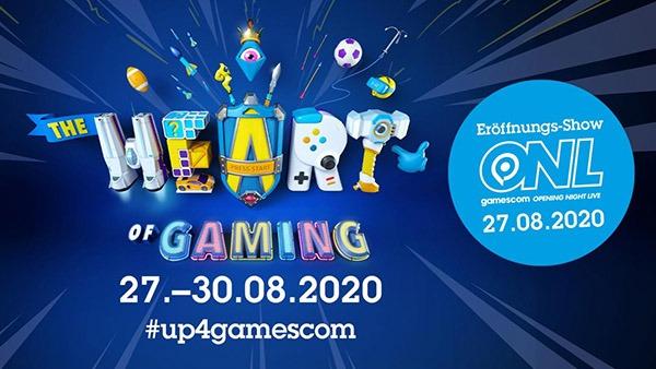 科隆展Gamescom2020数字展会8月27日至30日举行