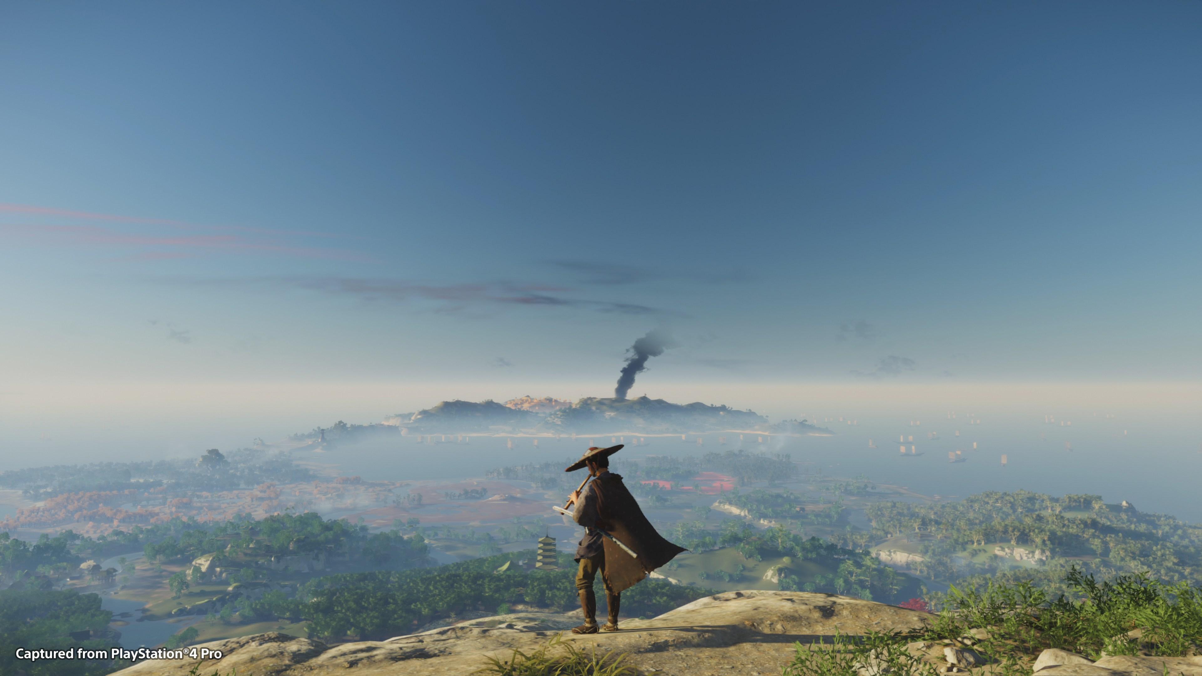 《对马岛之鬼》将榨干PS4 将性能发挥至极限
