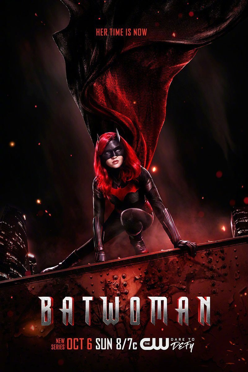 DC剧集《蝙蝠女侠》主演宣布退出 剧组将重新选角
