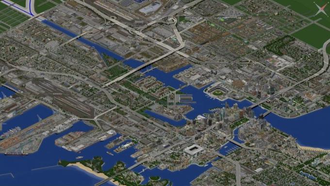 目前为止《我的世界》最大城市地图发布中 400人参与9年未完工