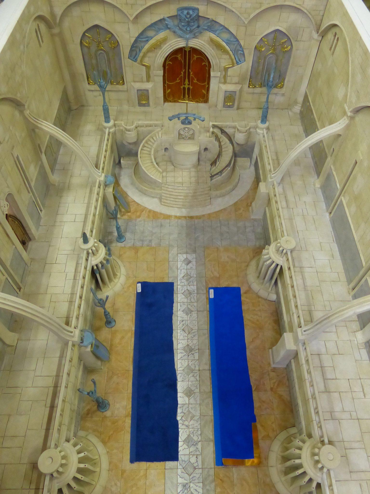 坂口博信公开新游《Fantasian》最新开发图 城市大厅亮相